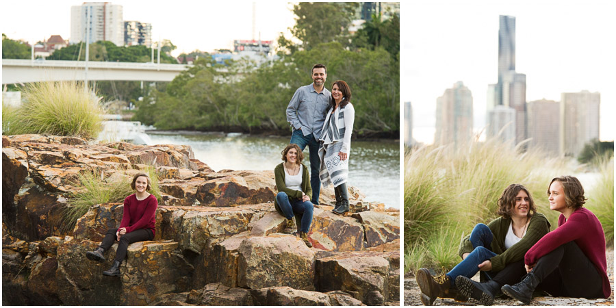 Family Portrait Photography Studio Brisbane
