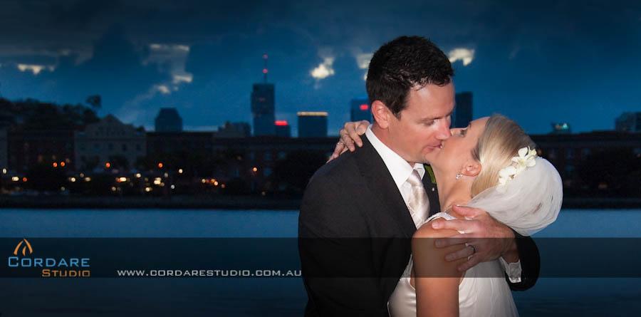 Wedding by the brisbane river