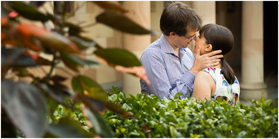 Engagement Photos at St Lucia University Of Queensland