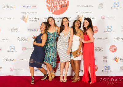 Summerball Red carpet media wall