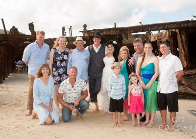 Wedding Family Photo