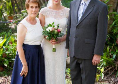 Bridal family photo