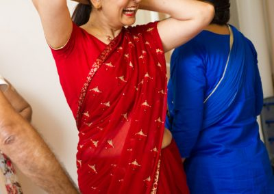 Nepalese mother of the bride